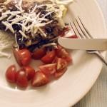 Omelett med trattkantareller